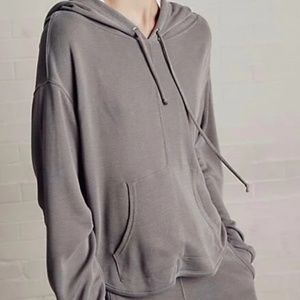 free people back into it active sport hoodie